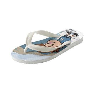 Billy-Ocean Kid's Flip Flops