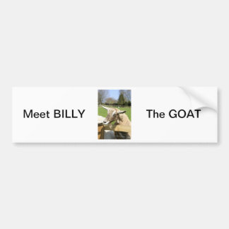 Billy the Goat Bumper Sticker