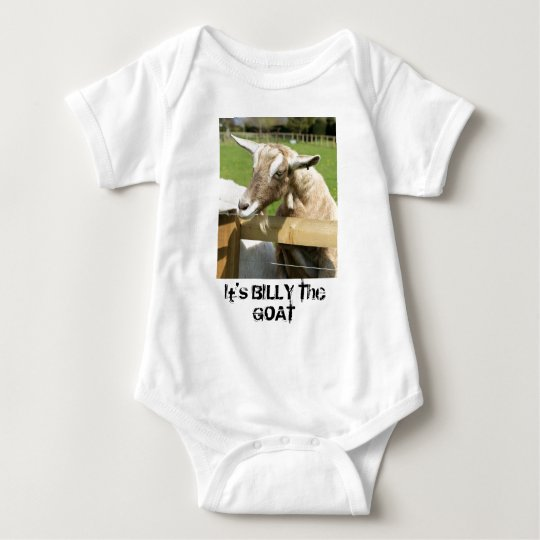 Billy the Goat Infant's Clothing Baby Bodysuit