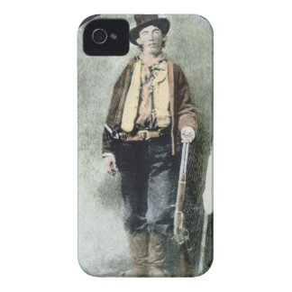 Billy the Kid (coloured engraving) Case-Mate iPhone 4 Case