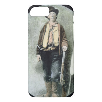 Billy the Kid (coloured engraving) iPhone 8/7 Case