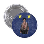 Billy the Kid Texan Burnet Flag 3 Cm Round Badge