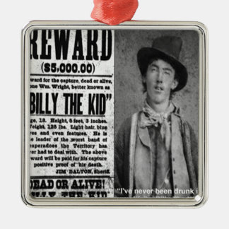 Billy The Kid Wanted Dead Or Alive Gifts & Tees Christmas Ornament