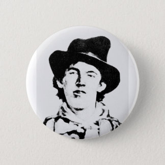 Billy The Kid ~ William H. Bonney / Outlaw 6 Cm Round Badge