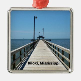 Biloxi, MS Christmas Ornament