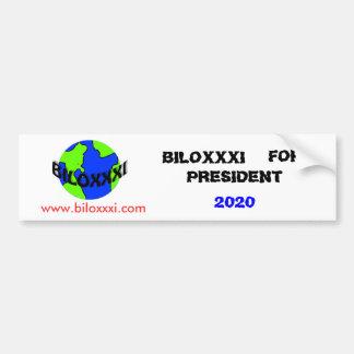Biloxxxi For President Bumper Sticker Car Bumper Sticker