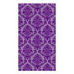 BILTMORE DAMASK in PURPLE and LAVENDER Poster