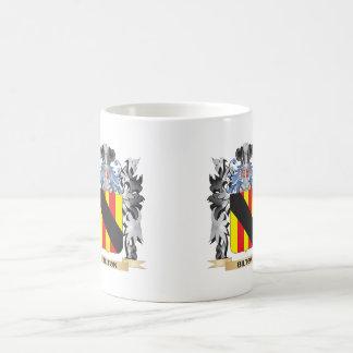 Bilton Coat of Arms - Family Crest Basic White Mug