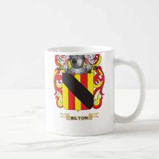 Bilton Coat of Arms (Family Crest) Basic White Mug