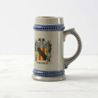 Bilton Coat of Arms - Family Crest Beer Steins