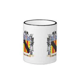 Bilton Coat of Arms - Family Crest Ringer Mug