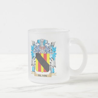 Bilton Coat of Arms Frosted Glass Mug