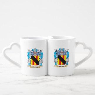 Bilton Coat of Arms Couples' Coffee Mug Set