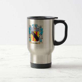Bilton Coat of Arms Stainless Steel Travel Mug