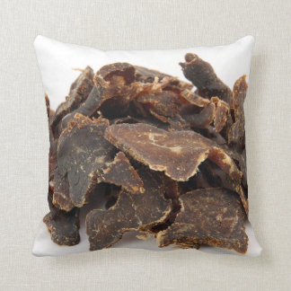 """BILTONG KUSSING"" THROW PILLOW"