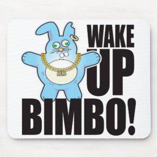 Bimbo Bad Bun Wake Mouse Mat