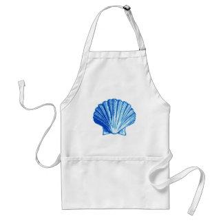 Bimini Blue Sea Shell Standard Apron