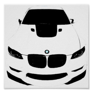 ~Bimmer~ POP ART AUTO POSTER, CUSTOMIZE IT! Poster