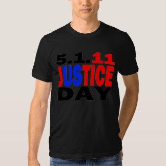 Bin Laden Dead - Justice Day May 1, 2011 Tshirt