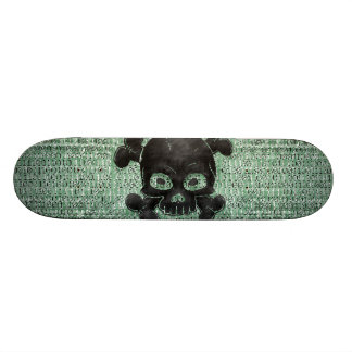 Binary 18.1 Cm Old School Skateboard Deck