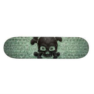 Binary 18.1 Cm Old School Skateboard Deck
