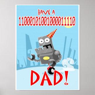 Binary Birthday Poster