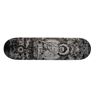 Binary Buddha 21.6 Cm Old School Skateboard Deck