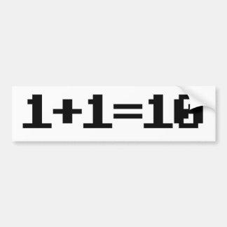 Binary Bumper Stickers