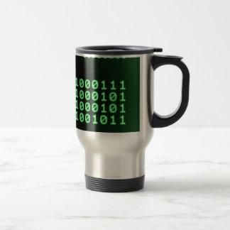 Binary code for GEEK Travel Mug