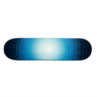 Binary Code Skateboard Deck