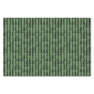 Binary Code Tissue Paper