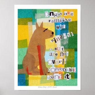 Binary Dingo Poster