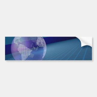 Binary Earth Bumper Stickers