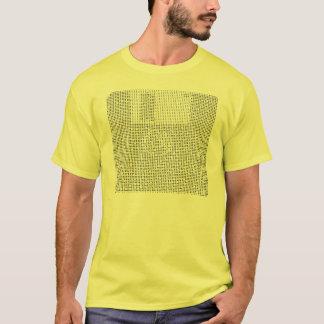 Binary floppy disc T-Shirt