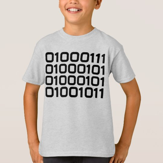 BINARY Geek FUN Graphic Tee