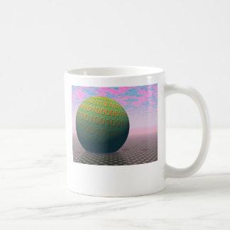 Binary Globe Mug