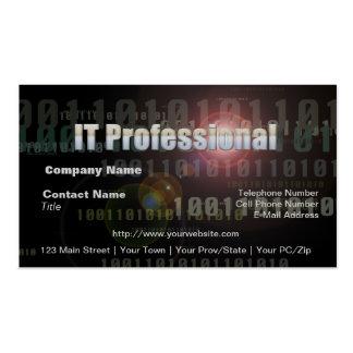 Binary IT Professional Business Card