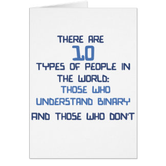 binary joke card