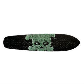 Binary Matrix Skateboard Deck