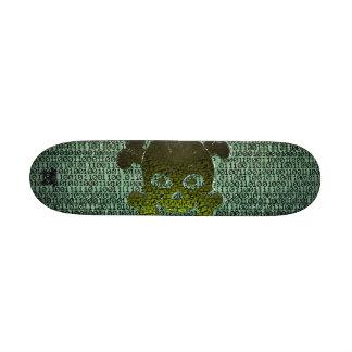 Binary Matrix Type2 Customisable Skate Board