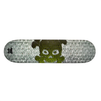 Binary Matrix Type3 Customisable 21.6 Cm Old School Skateboard Deck