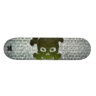 Binary Matrix Type3 Customizable 21.6 Cm Old School Skateboard Deck
