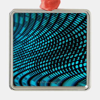 Binary Numbers Christmas Ornament