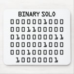 Binary Solo Mousemats