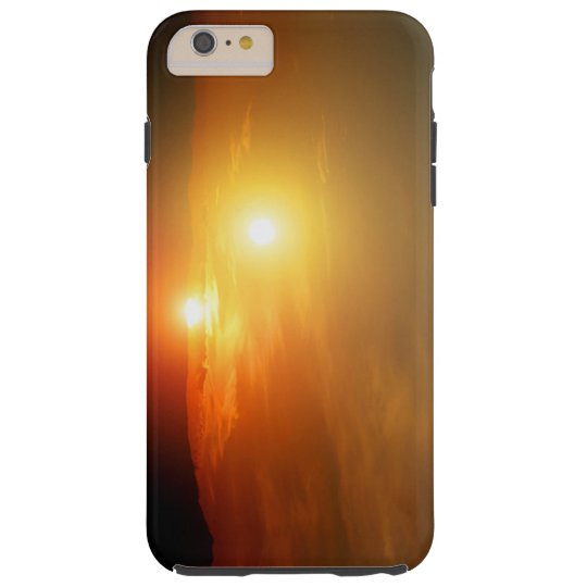 Binary Star Alien Sunset NASA Space Tough iPhone 6 Plus Case