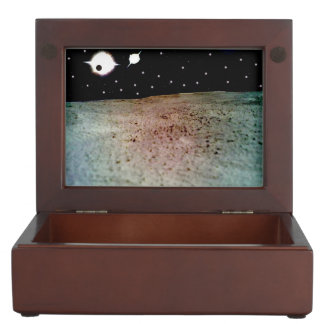 Binary stars system keepsake box
