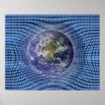 Binary World Poster