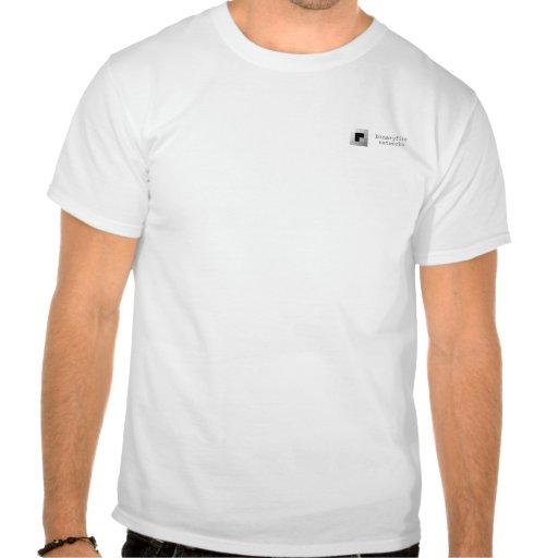 binaryfire networks staff shirt