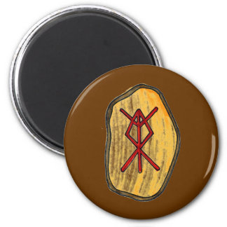 Bind Rune: Home Protection 6 Cm Round Magnet
