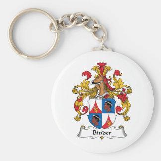 Binder Family Crest Keychain